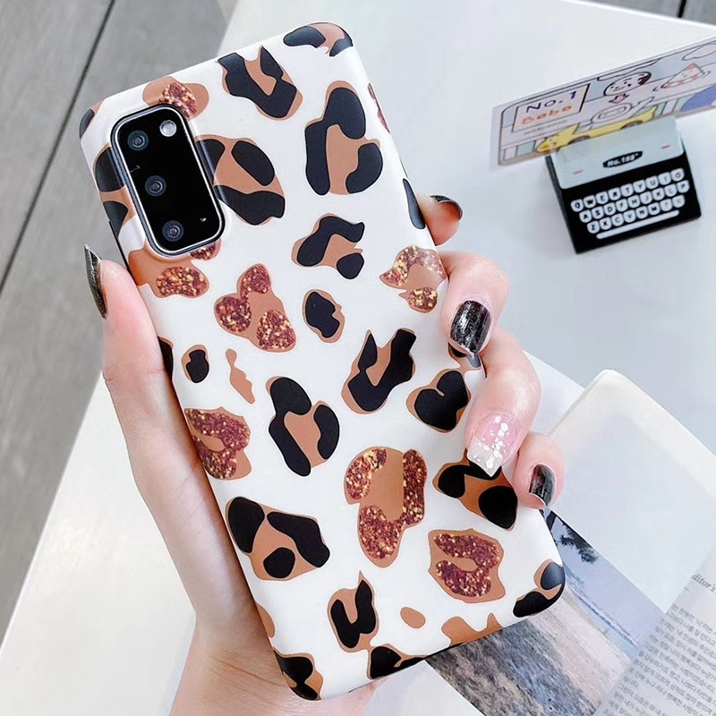 Luxury Leopard Skin Print Phone Case 1