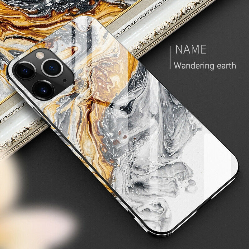 Luxury Tempered Glass Full Protective Phone Case For iphone 11 Pro Max X XR XS Max 8 7 6 6s plus 1
