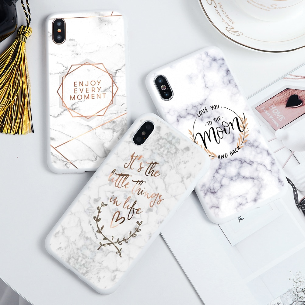 Marble Flower Phone Case iPhone 11 Pro Max For iPhone XS Max X XR 7 8 6 6S Plus 5 5S SE 2020 11Pro 1