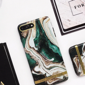 Luxury Green Marble Case For iPhone X XR XS Max 7 8 Plus iPhone 11 Pro Max SE 2020