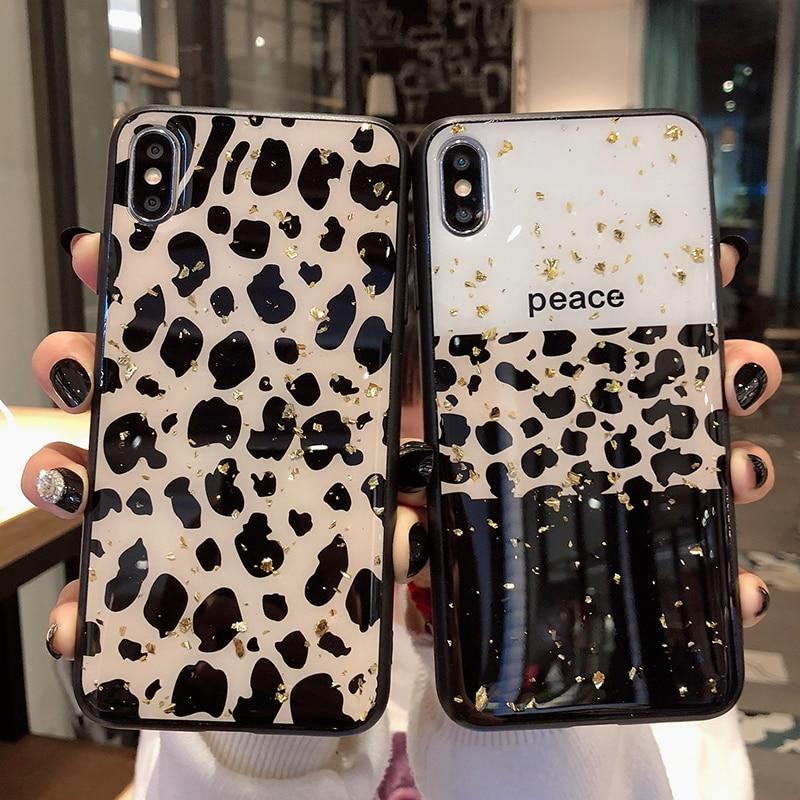 Luxury Leopard Skin Phone Case 1